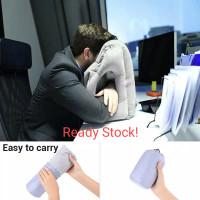 Bantal Tidur di Meja Kerja / Bantal Kepala di Pesawat Travel Udara Isi