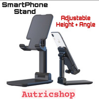 Stand Holder Handphone Smartphone Adjustable Folding Universal Dock