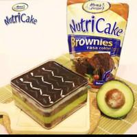 nutricake brownies coklat dan keju 230 gr