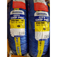 Ban Motor Tubeless Michelin City Grip Pro 110/80 - 14 Vario Beat PCX