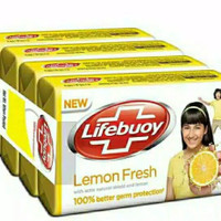 LIFEBUOY SABUN BATANG LEMON FRESH 110gr x 4pcs