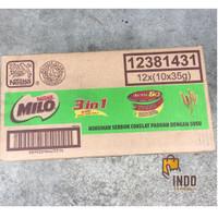 Milo 3 in 1 isi 120 sachet x 35g / Milo 3 in 1 dus / Susu Milo Karton