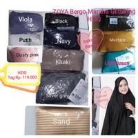 ZOYA Bergo Marsha Glittering HEIQ ori/hijab/jilbab kerudung instan