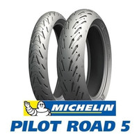 Ban Michelin 120/70-17 180/55-17 Pilot Road 5 FRONT & REAR