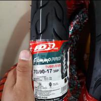 BAN LUAR 70/90-17 FDR TUBELESS FLEMMO PRO