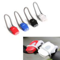 Lampu Sepeda LED Safety 2 mode bahan Silicon Flexible Praktis di Pasan
