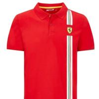 kaos kerah-tshirt-baju-polo shirt FERRARI