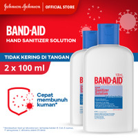 Band Aid Hand Sanitizer Solution 100 ml - isi 2