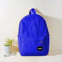 Tas Backpack Ransel Sekolah Stylish Polos Murah