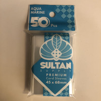 Sultan Supply Premium Card Sleeve Aqua Marine (45mm X 68mm) 50pcs