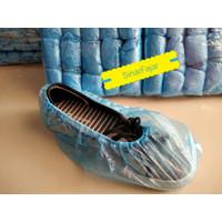 Sarung Sepatu Hujan Plastik Cover Shoes Anti Air Pelindung Sepatu