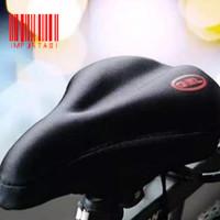 GEL Cover Jok Sadel Sepeda Bantalan Padding Sarung Empuk MTB Lipat