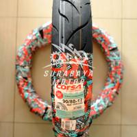Ban Tubeless Corsa 90/80-17 Terminator Sepeda Motor Ninja KLX Tubles