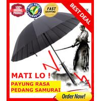 Payung PREMIUM Golf Besar Payung Jumbo dan Payung Hujan MODEL SAMURAI