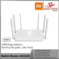 Xiaomi Redmi Router Wireless AC2100 Dual band - Gigabit 6 antena