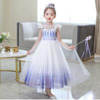 Dress Elsa Frozen Putih Kostum Elsa Frozen - 120