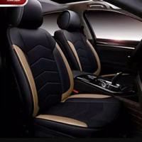 sarung jok mobil Brio bahan kulit sintetis