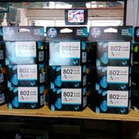 HP CARTRIDGE 802 COLOR / TINTA HP 802 WARNA ORIGINAL