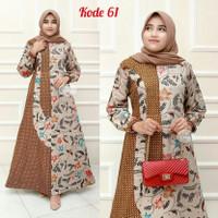 Batik Gamis/Baju Pesta/Baju Ibu Menyusui/Original Produk