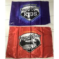 Cetak Bendera Bahan Satin / Print Custom Bendera