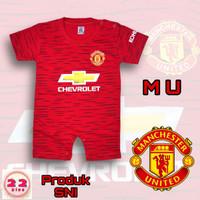 romper bayi laki laki jersey MU | baju bayi bola