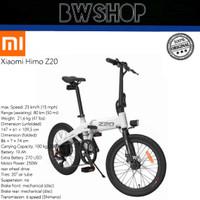 Xiaomi Himo Z20 Electric Bicycle - Sepeda Xiaomi - Sepeda Lipat