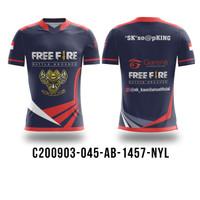 Kaos Baju Jersey PUBG Freefire Mobile Legend CODM BTR RRQ EVOS AB1457