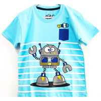 Baju Anak Laki-Laki Robot Salur - 1 thn
