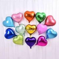 Balon Foil Hati / Love Size 10 inch ( 25 cm )