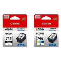 tinta cartridge pixma Canon 745s black +746s color ORIGINAL for iP2870