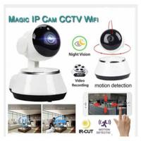 Magic IP Cam CCTV Wifi / KAMERA PENGINTAI CC TV /BIKIN RUMAH JADI AMAN