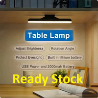 Lampu Belajar LED Emergency Baterai Rechargable Magnetic Makeup LED