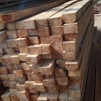Balok kayu proyek 8x12