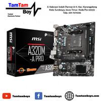 Motherboard MSI A320M-A Pro AM4 AMD DDR4 USB 3.1 SATA3 M.2 NVME SSD