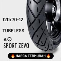 HARGA TERMURAH !!! FDR TUBELESS SPORT ZEVO 120/70-12 Ban Motor