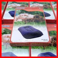 Bantal Bestway 67121 Tiup Angin Udara Flocked Air Pillow Portable