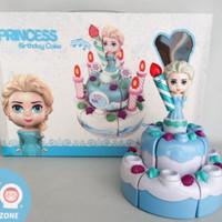 mainan kue ulang tahun frozen elsa/mainan anak