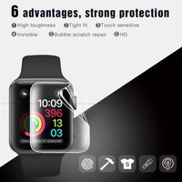 Hydrogel Apple Watch 6 40mm 44mm Anti Gores Screen Protector