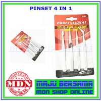 Pinset 4 IN 1 Pluto Jual Set 4pc