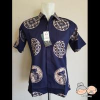 Baju Batik Pria / Laki-Laki FELIXIVAN [Code : 09033] - Hitam, M