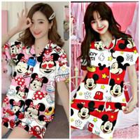 Piyama Pajamas Baju Tidur (HP) Dewasa Motif Mickey Mouse