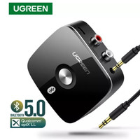 Ugreen Bluetooth Receiver 5.0 aptX LL 2 Rca Aux 3.5mm Wireless Adapter