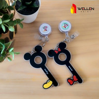 Corona finger / Cofing / Hand Extention mickey and Minnie Mouse 2 sisi