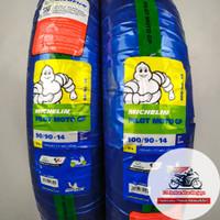 Michelin Pilot Moto GP 90/90 & 100/90-14 Ban Motor Matic + Pentil