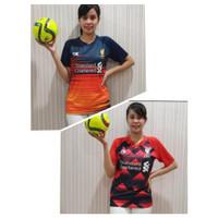Kaos Bola Jersey wanita / Baju Bola Printing