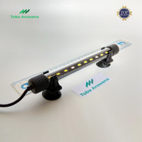 Lampu LED Celup Aquarium Aquascape Yamano 20 cm Putih Biru - 2 Watt