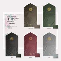 Sajadah Travel Tatuis Tiara 030 Polos Hitam Coklat Hijau Abu Maroon