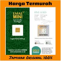 Emas Mini 0,025 Gram - Mini Gold 0.025 Gram - Logam Mulia Antam 0.025