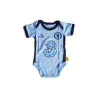 Baju Kaos Bola Bayi Anak Perempuan Laki Lucu Jumper Chelsea Away