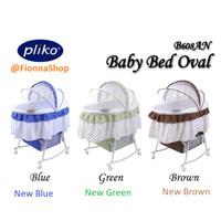 Box Bayi Pliko Bassinet Oval 608 AN / Tempat Tidur Bayi / Ayunan Bayi
